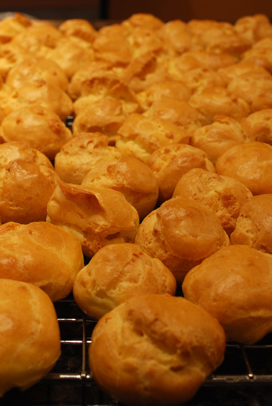 all the gougeres