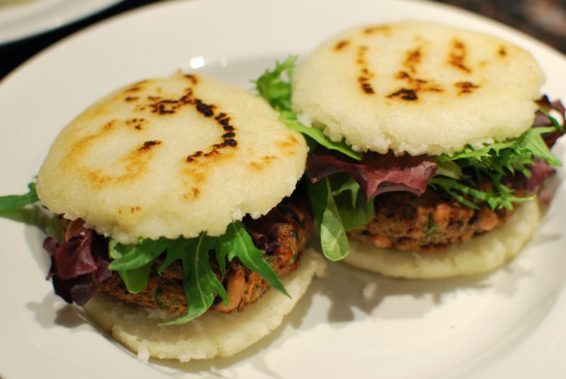 colombian style arepas grilled arepas with farmer s cheese or queso ...