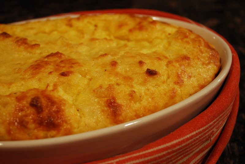 A little bit of  Southern heaven --- Spoonbread: A homey, filling dish that manages to be at once exciting and elegant