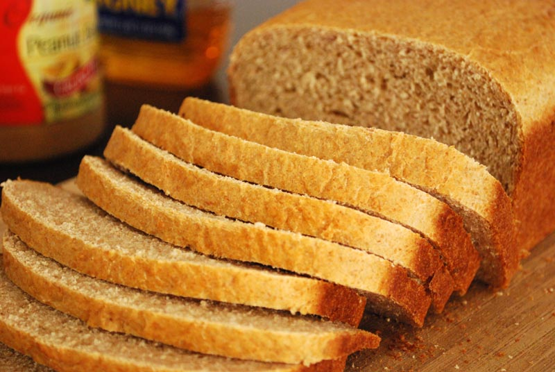 whole grain 100 % whole wheat bread recipe homemade whole wheat bread ...
